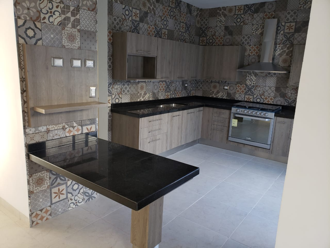 Cocinas modernas con granito